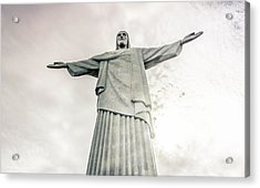 Acrylic Print featuring the photograph Christ The Redeemer by Andrew Matwijec