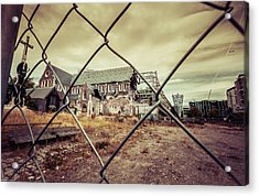 Acrylic Print featuring the photograph Christchurch Cathedral by Chris Cousins