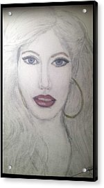 Christina Aguilera Acrylic Print