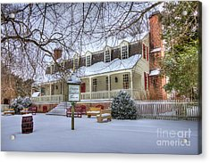 Christina Campbell Tavern Colonial Williamsburg Acrylic Print