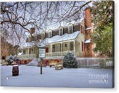 Christina Campbell Tavern Colonial Williamsburg Acrylic Print
