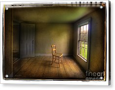 Acrylic Print featuring the photograph Christina's Room by Craig J Satterlee