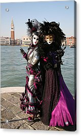 Christine And Gunilla Across St. Mark's  Acrylic Print