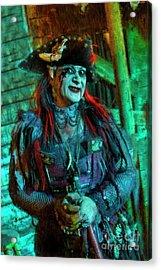 Christine Campiotti And Hunted House Acrylic Print