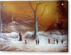 A Shire Christmas  Acrylic Print