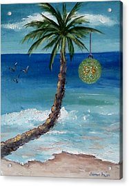 Acrylic Print featuring the painting Christmas 2008 by Jamie Frier