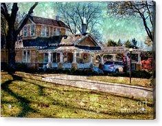 Christmas At Home Acrylic Print by Joan Bertucci