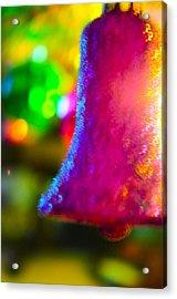 Christmas Bell  Acrylic Print