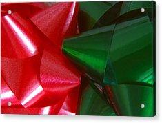 Christmas Bows 1 Acrylic Print by Steve Ohlsen