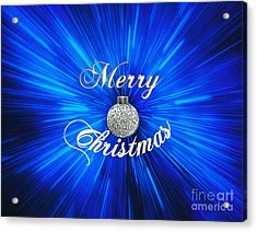 Christmas Brillance Acrylic Print