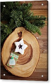 Acrylic Print featuring the photograph Christmas Cookies by Rebecca Cozart
