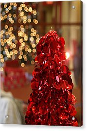 Christmas Glow Acrylic Print by James Granberry