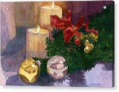 Christmas Glow Acrylic Print
