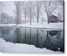 Winter Landsape Acrylic Print