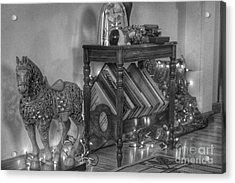 Christmas Horse Acrylic Print