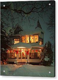 Christmas House Acrylic Print