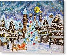 Christmas In Europe Acrylic Print