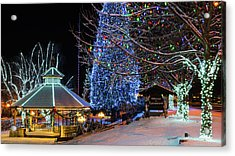 Acrylic Print featuring the photograph Christmas In Leavenworth by Dan Mihai