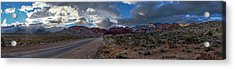 Acrylic Print featuring the photograph Christmas In The Desert by Ryan Smith