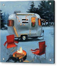 Christmas In The Snow Acrylic Print