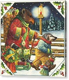 Christmas Journey Acrylic Print