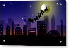 Christmas Landscape IIi Acrylic Print