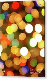 Christmas Lights Acrylic Print by Carlos Caetano
