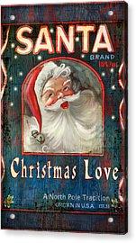 Christmas Love Acrylic Print