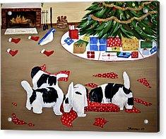Christmas Mischief Acrylic Print