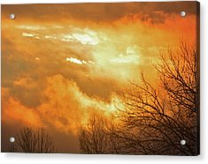 Acrylic Print featuring the photograph Christmas Morning Sunrise by Diane Alexander