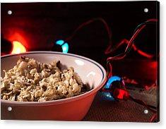 Christmas Oatmeal Breakfast Acrylic Print by Donald Erickson