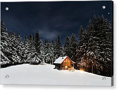 Christmas Acrylic Print by Paul Itkin