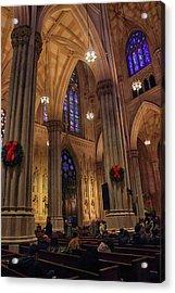Christmas Prayers Acrylic Print by Jessica Jenney