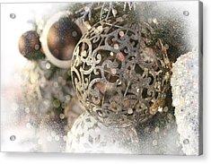 Christmas Acrylic Print by Helga Novelli