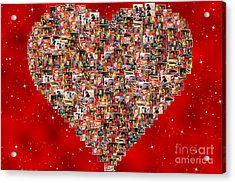Christmas Sales Pictures Collage Acrylic Print