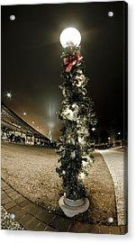Christmas Season In Charleston Acrylic Print by Andrew Crispi