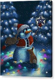 Christmas Season Acrylic Print