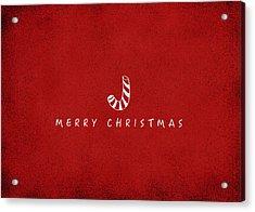 Christmas Series Christmas Stick Acrylic Print