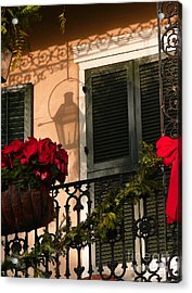 Christmas Shadow Acrylic Print