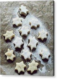 Christmas Stars Acrylic Print by Marija Djedovic