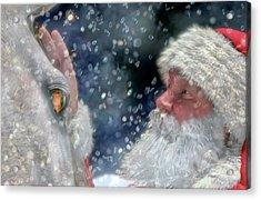 Christmas Touch Acrylic Print