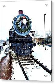 Christmas Train Acrylic Print