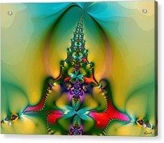 Christmas Tree Acrylic Print by Alexandru Bucovineanu