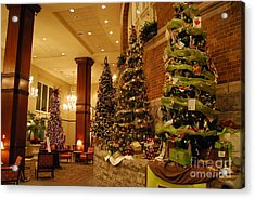 Acrylic Print featuring the photograph Christmas Tree by Eric Liller