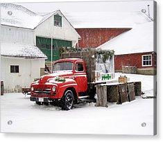 Christmas Truck 2010 Acrylic Print