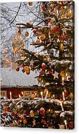 Christmastime At Tivoli Gardens Acrylic Print by Keenpress