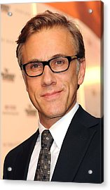 Christoph Waltz At Arrivals Acrylic Print by Everett