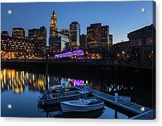 Christopher Columbus Waterfront Park Acrylic Print by Juergen Roth