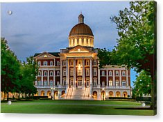 Christopher Newport Hall An Exquisite Jewel Acrylic Print