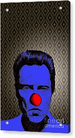 Christopher Walken 1 Acrylic Print by Jason Tricktop Matthews